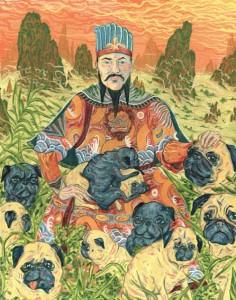 Chinesischer Kaiser Mops
